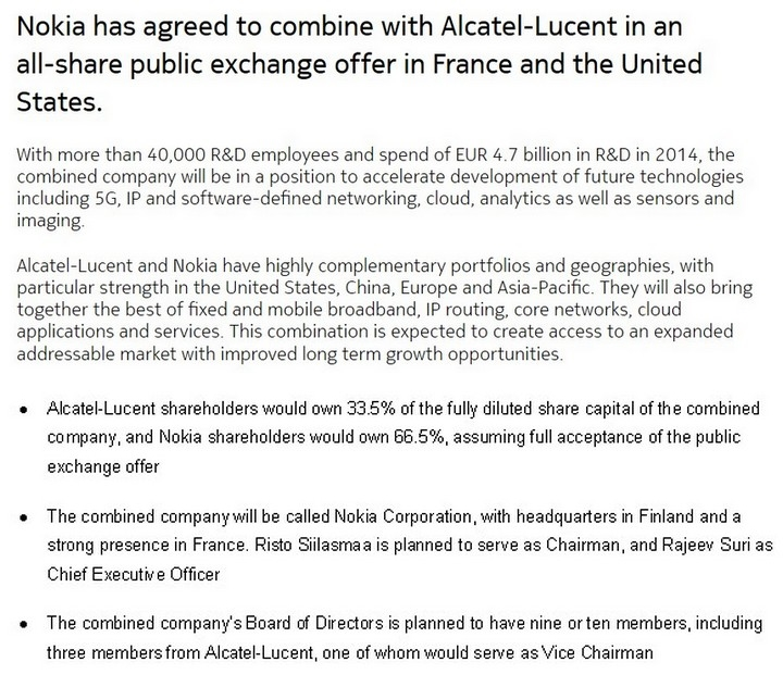 Alcatel Lucent Alu Stock Discussion Forums