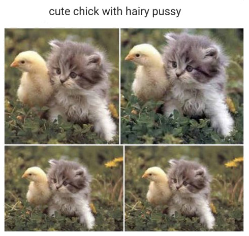 Cute chick with hairy pussy